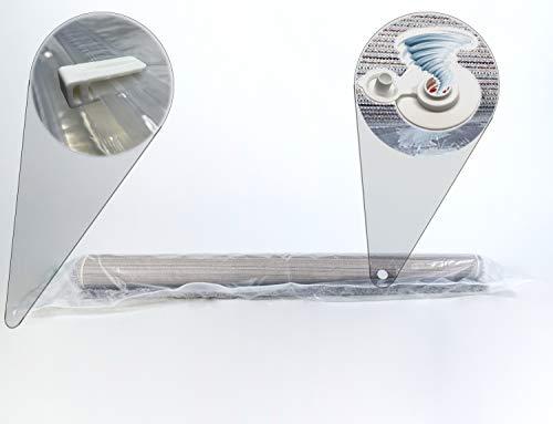 Sirena - Sacchetto sottovuoto per materasso e tappeto con Turbo Valvola universale a prova di perdite. Sacco di protezione sottovuoto per riporre oggetti voluminosi 130 x 250/350 cm (130 x 350 cm)