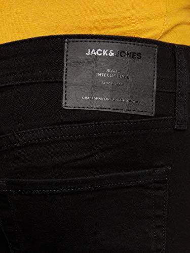 Jack & Jones Jjiliam Jjoriginal Am 816 Noos Vaqueros Skinny, Negro (Black Denim Black Denim), 32W / 32L para Hombre
