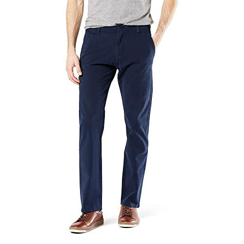 Dockers Men's Slim Fit Ultimate Chino Pants, pembroke, 34W x 32L