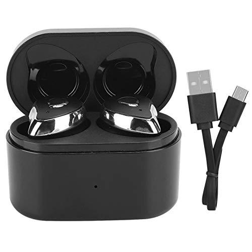 DAUERHAFT Auriculares Medios en la Oreja Mini tamaño Bluetooth 5.0 SE-6 TWS Reducción de Ruido Auriculares con reducción de Ruido, para Correr, para Deportes y Fitness