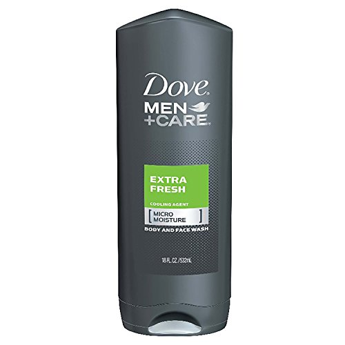 Dove Men+Care Body and Face Wash Bonus Pack - Extra Fresh - 2/18 oz. + 13.5 oz. by Dove