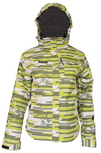 Zoya NordBlanc Damen Schnee Sport Jacke gelb-weiß-grau 36-44