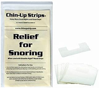 ChinUp Strips reduce loud snoring of men with short beards or women with oily skin. Over 9 Million Chin Up Strips have been used worldwide to reduce snoring and help people sleep in peace.