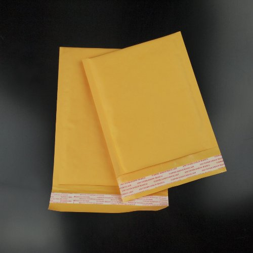 500 #00 5x10 PREMIUM US MADE KRAFT BUBBLE MAILERS PADDED ENVELOPE BAGS Photo #4