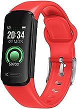 Fitness tracker HAMTOD V101 0.96 inch IPS-scherm Smart Sport Watch, ondersteuning van meerdere sportmodi/bericht Push/hart...