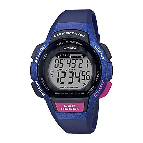 Casio Lws-1000h-2a Reloj Digital para Mujer Colección Collection Caja De Resina Esfera Color Gris