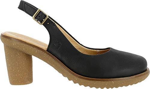 El Naturalista Trivia, Zapatos de tacón con Punta Cerrada Mujer, Negr