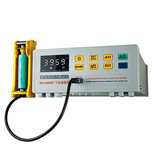 SUNKKOT688A Einzelbatterie Umfassender Prüfgerät Innenwiderstand Kapazität Spannungsüberlastungsprüfer