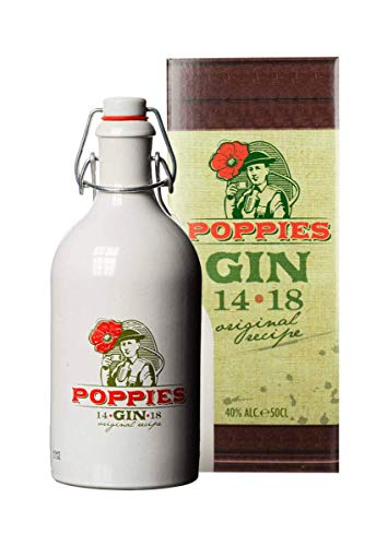 Poppies Gin 40% - 500 ml in Giftbox