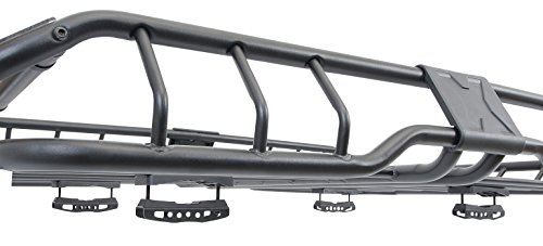 Geniusly, crafted brackets tightly grip the rhino rack to any set of crossbars.