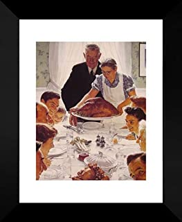 Freedom from Want 20x24 Framed Art Print by Rockwell, Norman