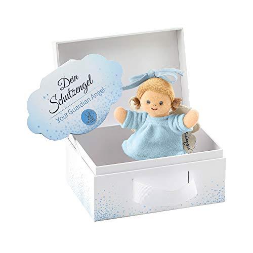 Sterntaler Spielzeug zum Aufhängen mit Band, Schutzengel für Jungen, Alter: Für Babys ab der Geburt, Blau