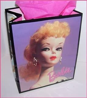 1996 Hallmark Ponytail Barbie Doll Collectible Gift Bag
