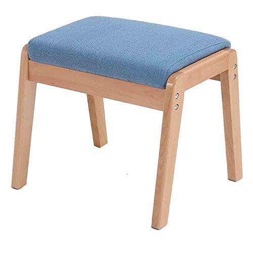 ECSD massief houten bank katoen en linnen kussen woonkamer slaapkamer sofa kruk Home eettafel Bank Adult Dining Chair
