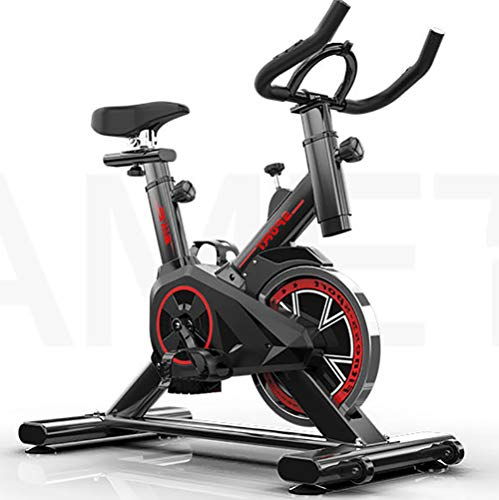 GOYAN Bicicleta estáticas para Fitness, Bici de Spinning, H