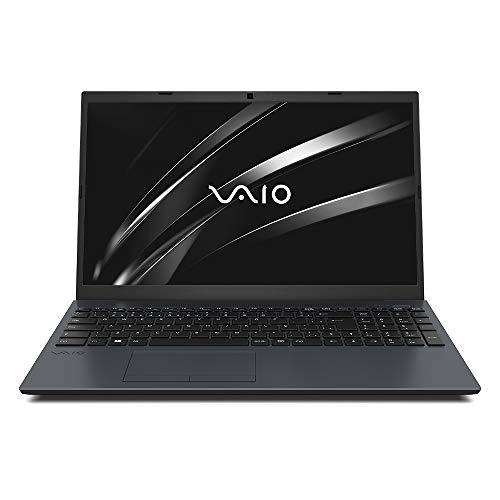 "Notebook VAIO FE15 Intel Core i5, 8GB RAM, HD 1TB, Tela 15.6"" HD, Linux - Chumbo Escuro"