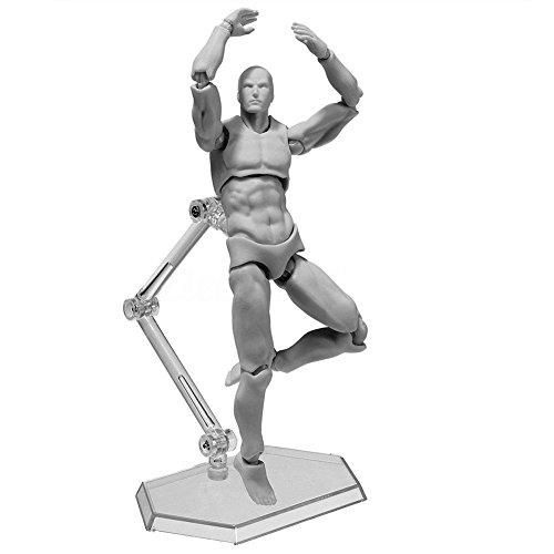 Espeedy Modelo de Modelado de Pintura,2.0 Cuerpo Kun Muñeca PVC Body-Chan DX Set Modelo de Acción para SHF Maniquí de Hombre/Mujer