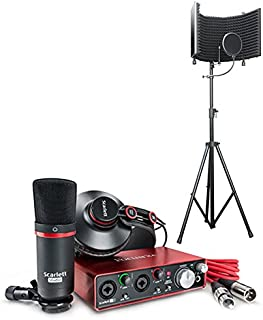 recording equipment packages beginners