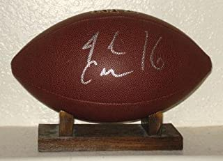 Josh Cribbs Autographed Football (browns) W/Proof! - Autographed Footballs