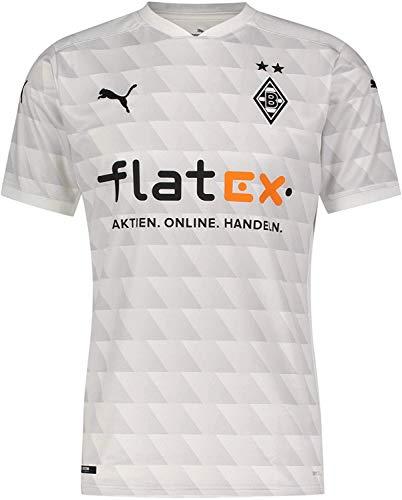 PUMA Herren BMG Home Shirt Replica T White-Gray Violet, L