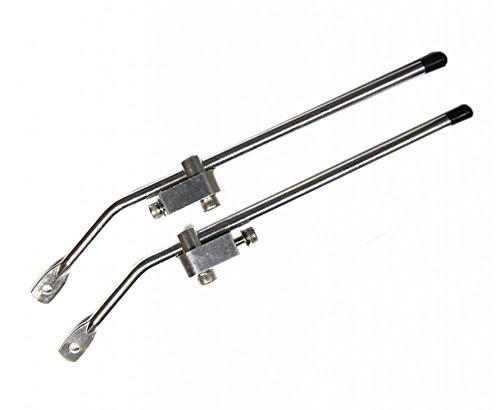 Pletscher Befestigung for Genius/Inova, Variante:Metall/Blank (66/133 mm)
