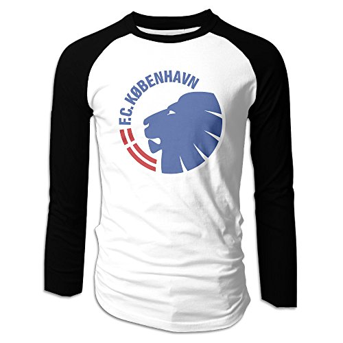 Men's F.C. Copenhagen Logo Long Sleeve/Neck T-Shirt