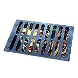 Taerausi Halloween Doormat, Horror Manhole Cover Pattern Door Mat, 3D Illusion Evil Under Sewer Cover Clown Doormat, Non Skid Rug Outdoor Welcome Floor Mat for Front Door Halloween Decor