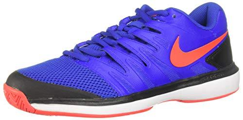 Nike Air Zoom Prestige HC, Scarpe da Tennis Uomo, Multicolore (Racer Blue/Bright Crimson/Black/White 402), 44 EU