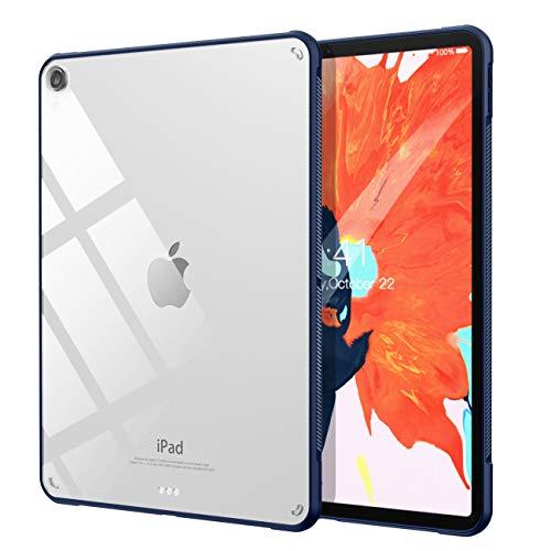 TiMOVO iPad Pro 11 ケース ipad pro 11カバー 2018モデル ハードケース 透明 ソフトなエッジ Apple Pencil 第2世代 ペアリングとワイヤレス充電機能対応 スリム 軽量 擦り傷防止 耐衝撃 指紋防止 手触り良い