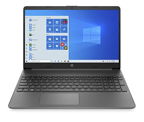 HP - PC 15s-eq1015nl Notebook, AMD Ryzen 3, RAM 8 GB, SSD 128 GB, Grafica AMD Radeon R3, Windows 10 Home S Mode, Schermo 15.6' FHD SVA Antiriflesso, Lettore Micro SD, HDMI, USB-C, Webcam, Grigio