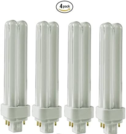(4 Pack) CFL Bulbs Direct Generic Replacement for Panasonic FDS18E35/4 18W 3500K