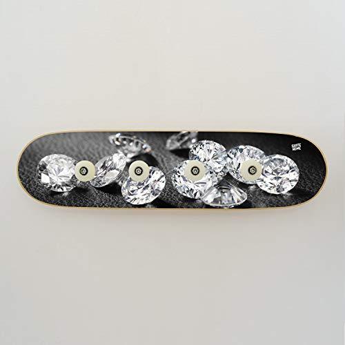 Perchero de skateboard