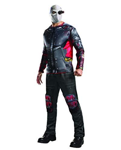 Horror-Shop Deadshot Kostüm Deluxe für Fasching & Halloween Standard