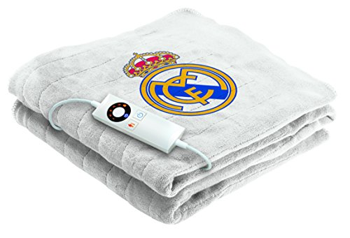 Imetec Real Madrid - Manta eléctrica para sofá, 120 x 160 cm,...