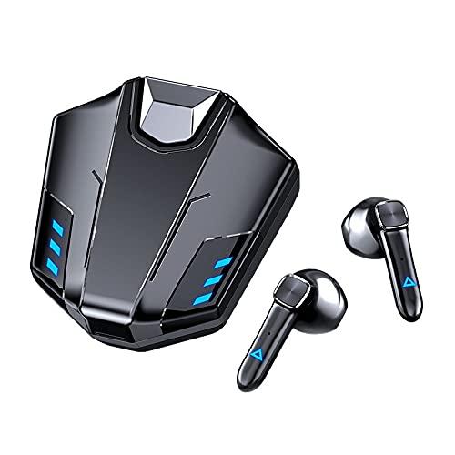 GXYGXY Auriculares Inalámbricos Bluetooth M1C, Auriculares Inalámbricos para Juegos Competitivos, Auriculares Bluetooth 5.0 con, Auriculares In-Ear inalámbricos para Juegos con Micrófono