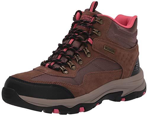 Skechers womens Hiker Hiking Boot, Tan, 8.5 US
