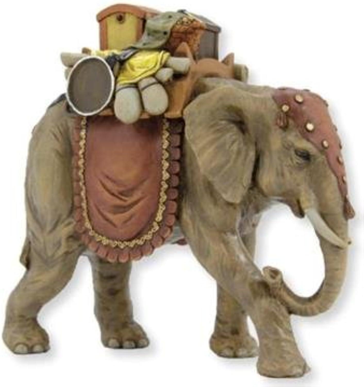 Miniaturfigur, Figur Elefant LxBxH 27x15x25cm geeignet für 19cm Figuren B014111N4A Hochwertig    Zarte