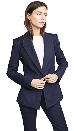 Dion Lee Women's Binary Blazer, Navy, Blue, 12