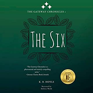 The Six audiobook cover art