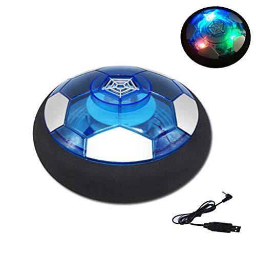 Urisgo Giocattoli per Palloni da Calcio da Casa Fluttuante Giocattoli Sportivi per Bambini Compleanno Natale Regalo con Luce a LED e paraurti in Eva