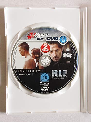 Brothers & R.I.F. - Ich werde Dich finden - 2 Spielfilme auf DVD aus TV Movie 2012-21