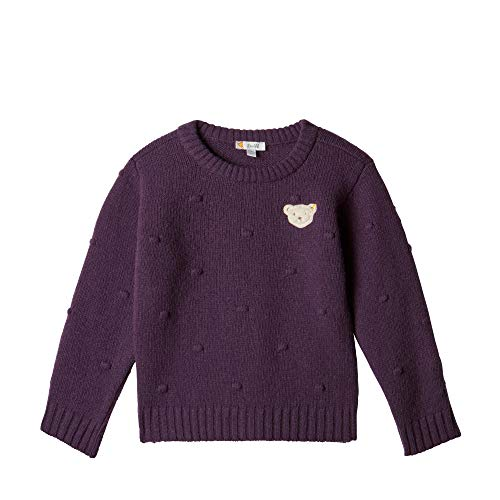 Steiff Mädchen Pullover , Violett (HORTENSIA 7021) , 104