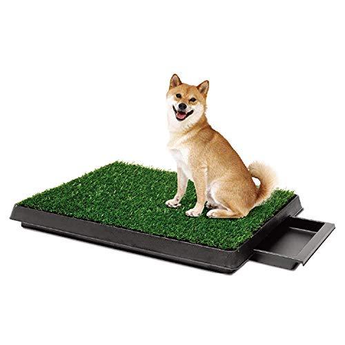 Inodoro Para Mascotas/Perros/Gatos, Inodoro Con Cajón Para Perros De Césped Entrenador Para Inodoros Interiores Y Exteriores Duradero A Prueba De Viento Y Fácil De Limpiar Adecuado