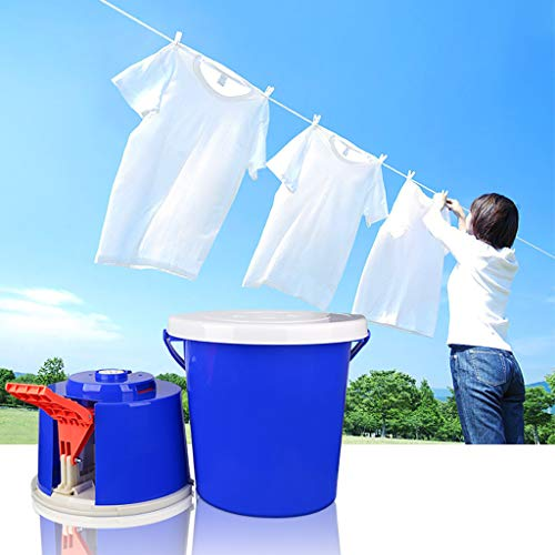 Tragbare Outdoor-Fitness-Pedalwaschmaschine Mini-Waschmaschine