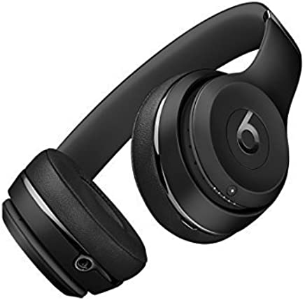 Beats Solo3 Wireless On-Ear Headphones - Black (Refurbished)