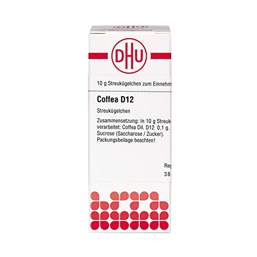 DHU Coffea D12 Globuli, 10 g Globuli