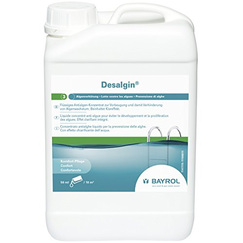 Bayrol Desalgin 1141115 Traitement anti-algues pour piscine 3 l
