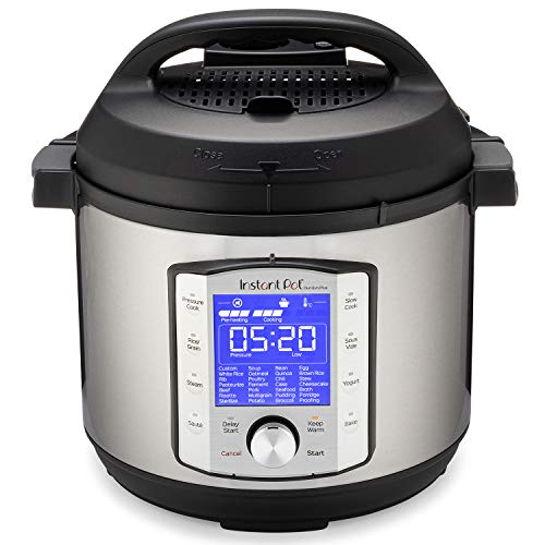 Instant Pot Duo Evo Plus 9-in-1 Electric Pressure Cooker, Slow Cooker, Rice Cooker, Grain...