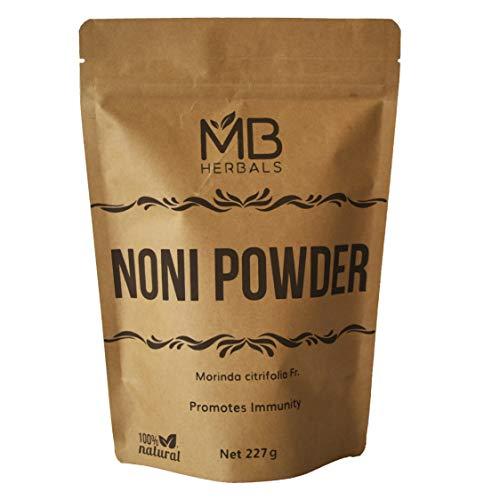 MB Herbals Noni Powder 227 Gram   8 oz   Abundant Antioxidants and Amino Acids   Improves Immunity & Antiageing