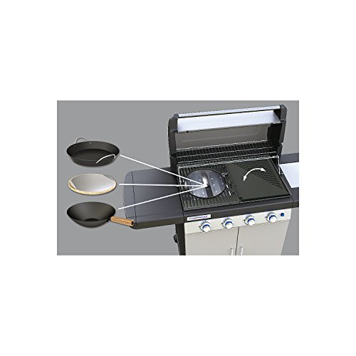Campingaz Gas BBQ 4 Series Classic LS Plus, 4+1 burner stainless steel gas barbecue